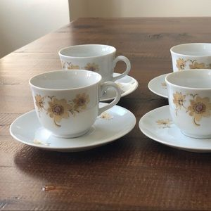 Other - set 4 Bavarian porcelain espresso cups